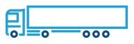 Road freight services icon